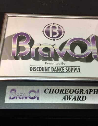 BravO Choreography Award