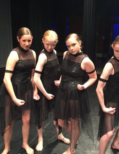 Tough Ballerinas